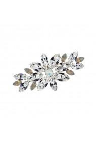 Brosa cu cristale Swarovski Carla Brillanti 5042 Crystal