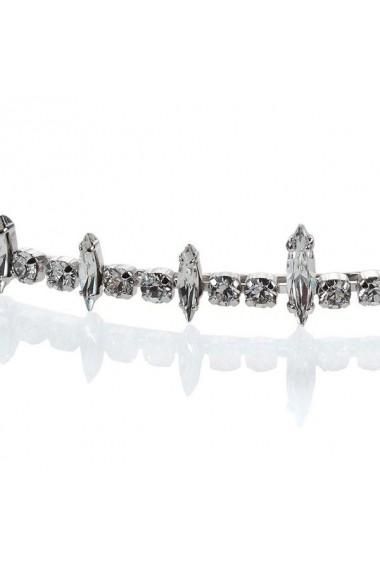 Diadema mireasa cu cristale Swarovski Carla Brillanti 8063 Crystal