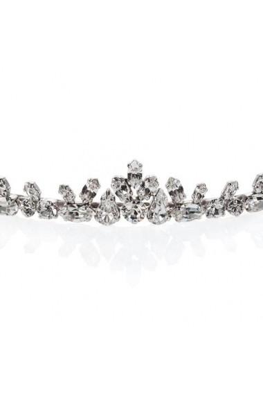 Diadema mireasa cu cristale Swarovski Carla Brillanti Fine Crystal