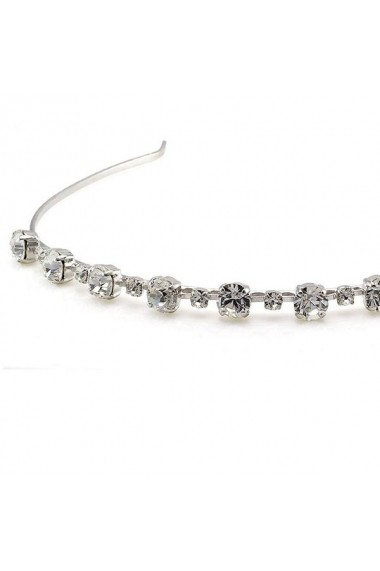 Diadema mireasa cu cristale Swarovski Carla Brillanti 8068 Crystal