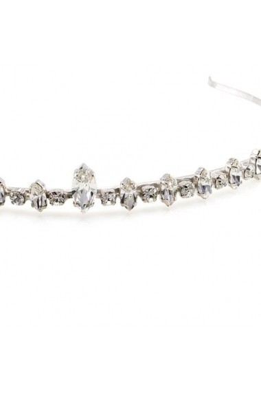 Diadema mireasa cu cristale Swarovski Carla Brillanti 8079 Crystal