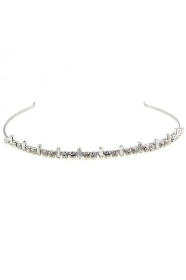 Diadema mireasa cu cristale Swarovski Carla Brillanti 8031 Crystal