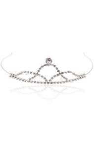 Diadema mireasa cu cristale Swarovski Carla Brillanti 8134 Crystal
