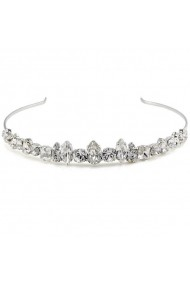 Diadema mireasa cu cristale Swarovski Carla Brillanti 8147 Crystal