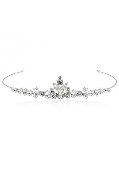 Diadema mireasa cu cristale Swarovski Carla Brillanti 8148 Crystal