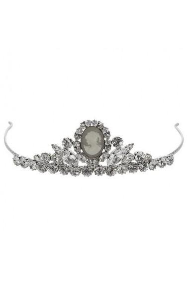Diadema mireasa cu cristale Swarovski Carla Brillanti 8193 Crystal &Camee