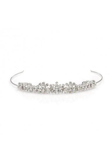 Diadema mireasa cu cristale Swarovski Carla Brillanti Daphne Crystal