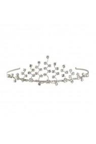 Diadema mireasa cu cristale Swarovski Carla Brillanti 8131 Crystal
