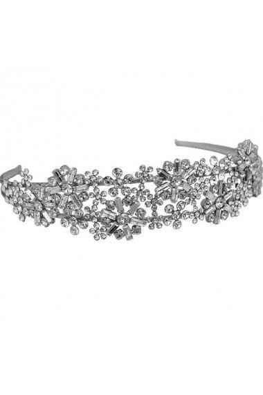 Diadema mireasa cu cristale Swarovski Carla Brillanti 8231 Crystal