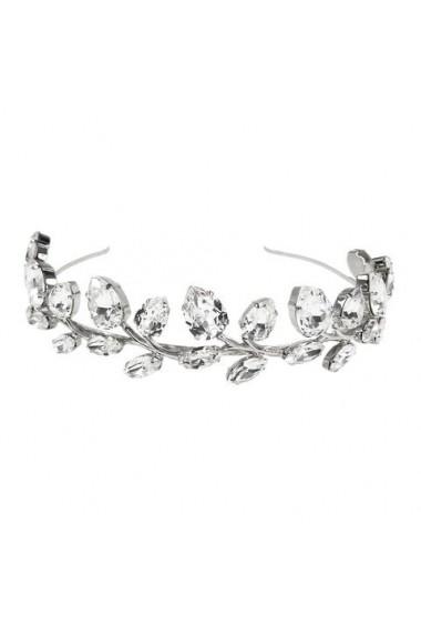 Diadema mireasa cu cristale Swarovski Carla Brillanti Rafaela Crystal