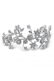 Diadema mireasa cu cristale Swarovski Carla Brillanti Primavera Crystal