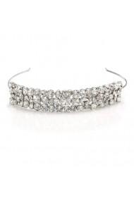 Diadema mireasa cu cristale Swarovski Carla Brillanti 8216 Crystal