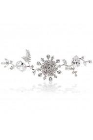 Accesoriu par mireasa cu cristale Swarovski Carla Brillanti 8165 Crystal