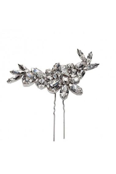 Accesoriu par mireasa cu cristale Swarovski Carla Brillanti 8179 Crystal