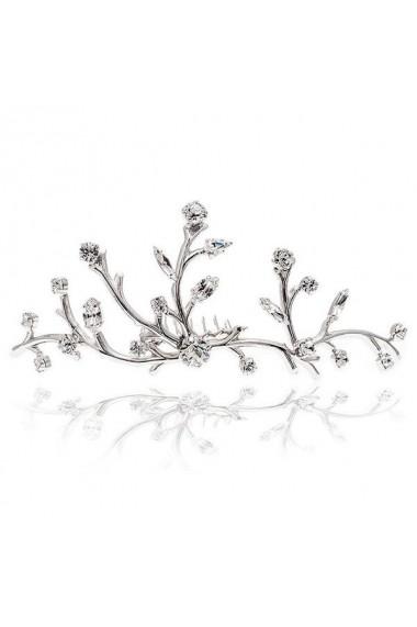 Accesoriu par mireasa cu cristale Swarovski Carla Brillanti Ariana Crystal