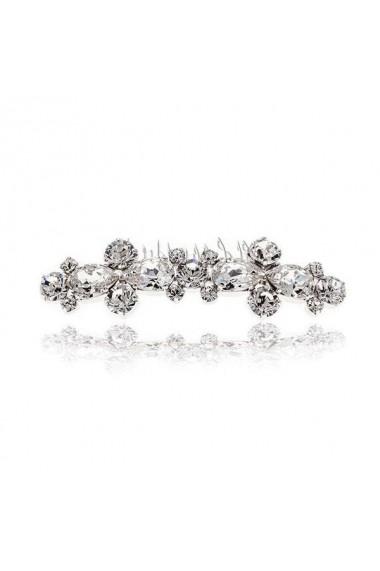 Accesoriu par mireasa cu cristale Swarovski Carla Brillanti 8201 Crystal
