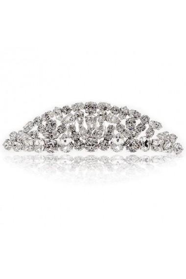 Accesoriu par mireasa cu cristale Swarovski Carla Brillanti 8208 Crystal
