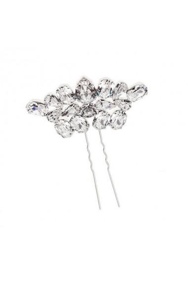 Accesoriu par mireasa cu cristale Swarovski Carla Brillanti 8162 Crystal