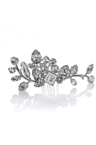 Accesoriu par mireasa cu cristale Swarovski Carla Brillanti 8191 Crystal
