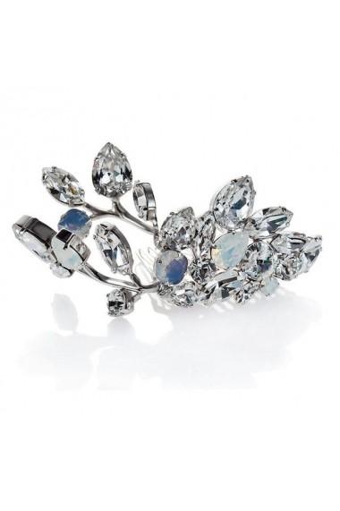 Accesoriu par mireasa cu cristale Swarovski Carla Brillanti Yvonne Crystal