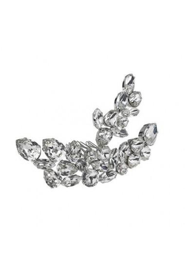 Accesoriu par mireasa cu cristale Swarovski Carla Brillanti 8181 Crystal