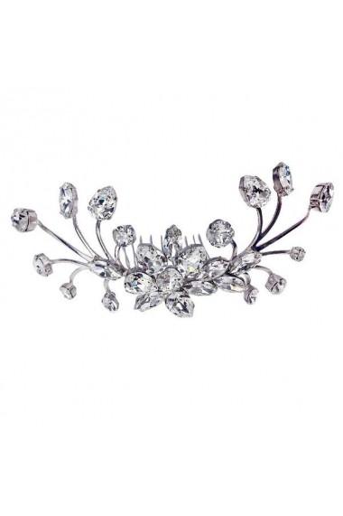 Accesoriu par mireasa cu cristale Swarovski Carla Brillanti 8171 Crystal