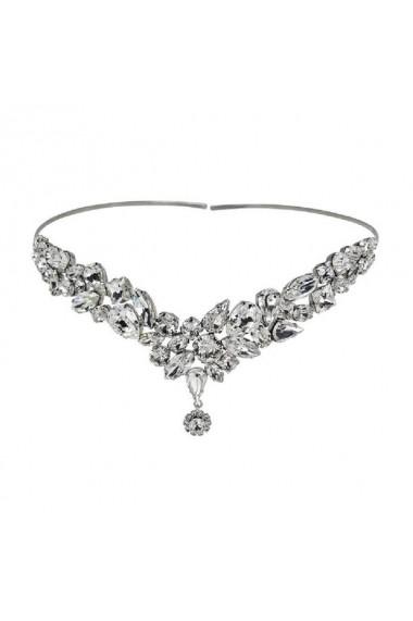 Accesoriu par mireasa cu cristale Swarovski Carla Brillanti Yasmine Crystal