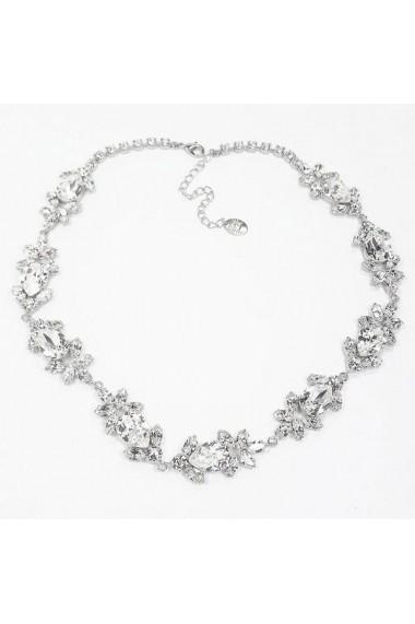 Accesoriu par mireasa cu cristale Swarovski Carla Brillanti Ivy Crystal