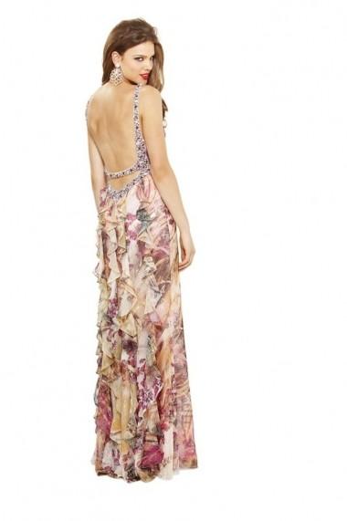 Rochie de seara Faviana 6918 Imprimata