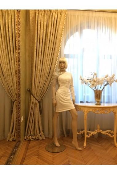 Rochie de seara Jovani 5465 Crem