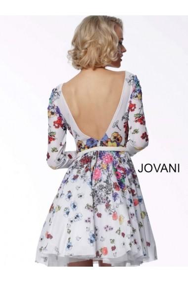 Rochie de seara Jovani 65967 Inflorata