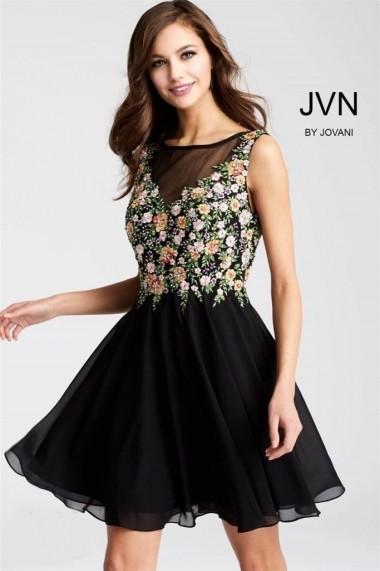 Rochie de seara Jovani JVN54561 Neagra