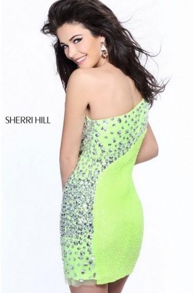 Rochie de seara Sherri Hill 21138 Portocalie
