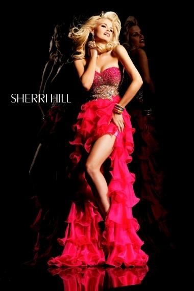Rochie de seara Sherri Hill 3835 Fuchsia