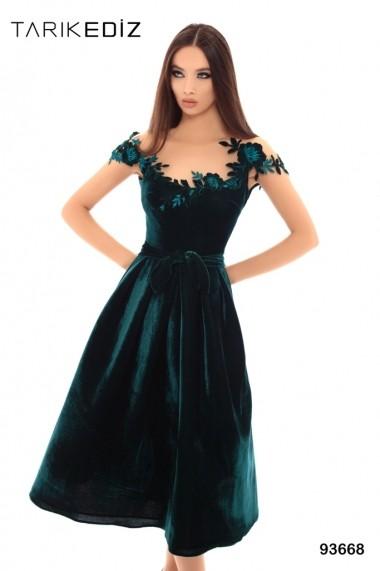 Rochie de seara Tarik Ediz 93668 Verde