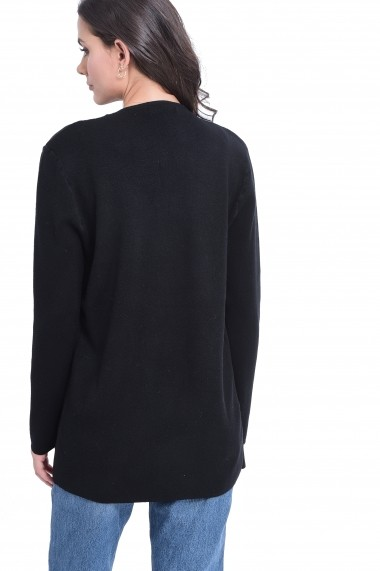 Cardigan William de Faye WF717 Negru - els