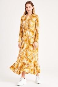 Rochie lunga de zi Muni Muni 50171-1 Floral