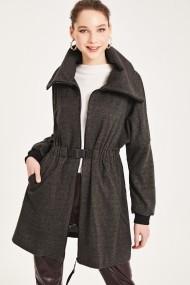 Palton Muni Muni N1028 Gri