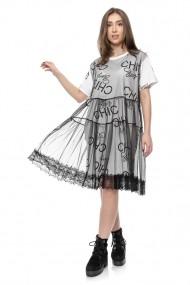 Rochie Jolenttine Stay Chic White R30120A Print