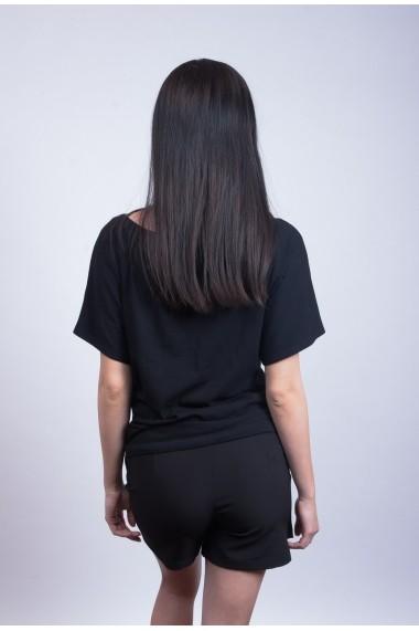 Pantaloni tip fusta Mida Leisure Vod Negru