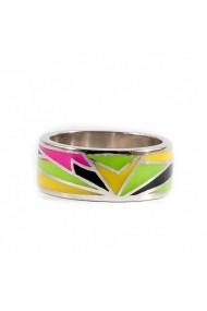 Inel argint 925 Ametist Online C210917015-CI9 Multicolor