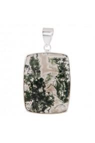 Pandantiv argint 925 cu Agat Ametist Online SA071118006-W01981 Verde