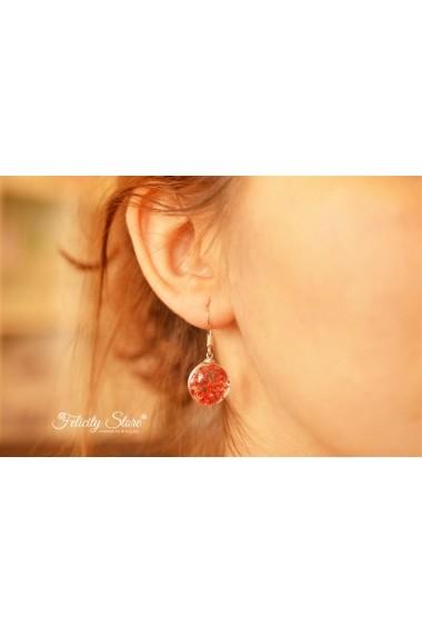 Cercei Red Passion (inox)