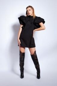Rochie scurta Monarh Design MN874BK Neagra