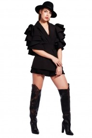 Pantaloni scurti Monarh Design MN408BK Negri