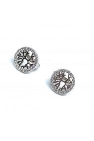 Cercei din argint Dinuzete 022 Argintii