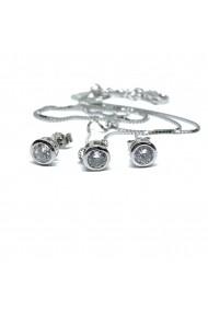 Set din argint Dinuzete 018 Argintiu