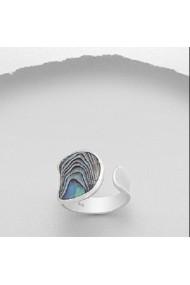 Inel Fine Jewelry din argint veritabil 925 cu sidef