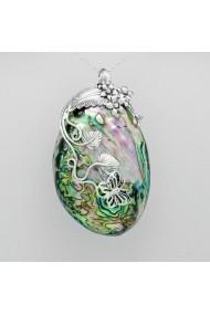 Pandantiv Fine Jewelry cu fluture din argint veritabil 925 cu sidef