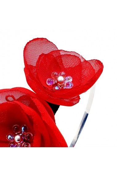 Coronita par Zia Fashion Ariel rosu